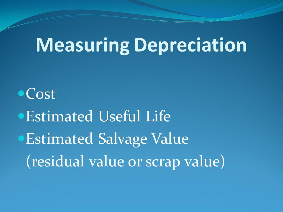 cost depreciation how to find scrap value