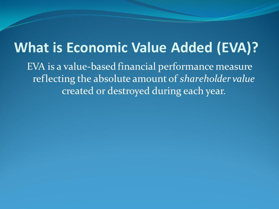 What is Economic Value Added (EVA)