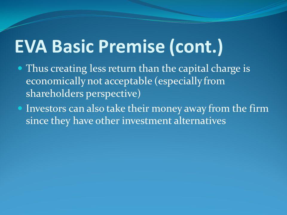 EVA Basic Premise (cont.)