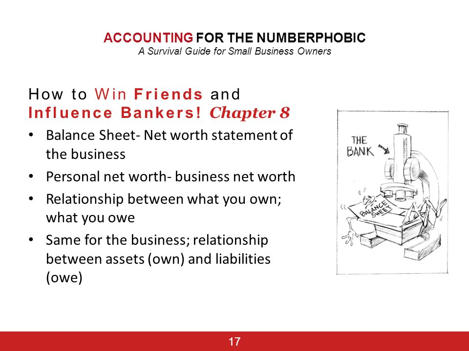 How to Win Friends and Influence Bankers! Chapter 8