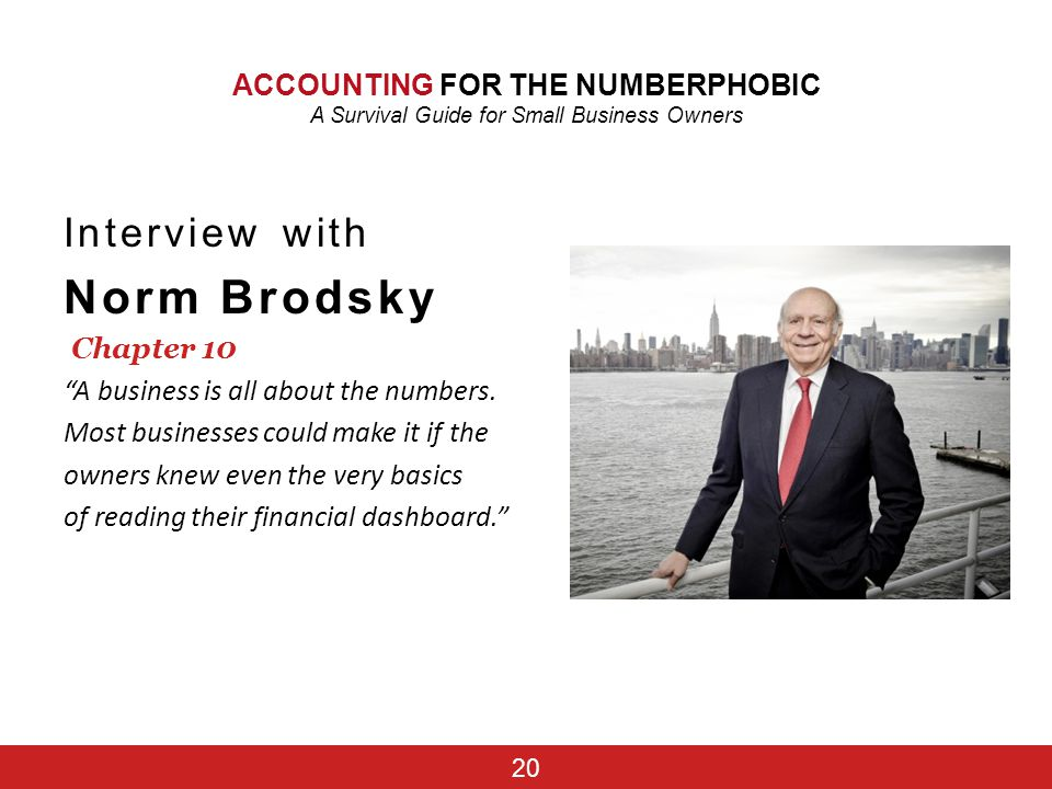 Norm Brodsky Interview with