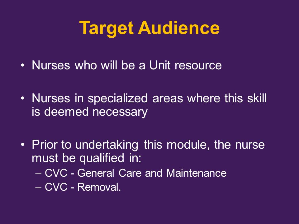 Nurses who will be a Unit resource