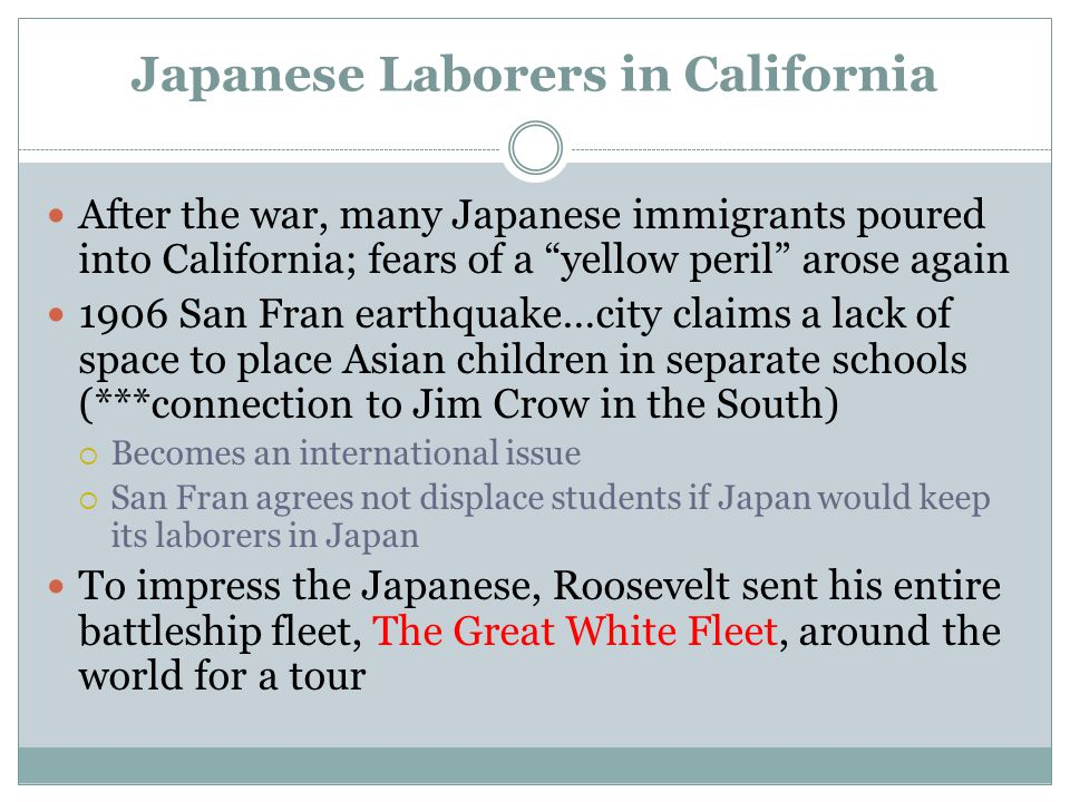 Japanese Laborers in California