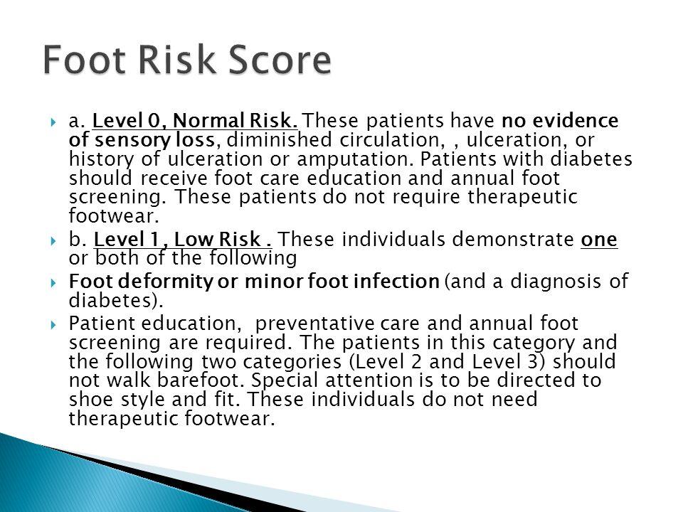 Foot Risk Score