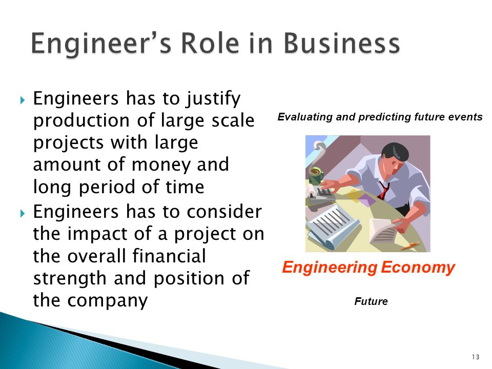 Engineer's Role in Business