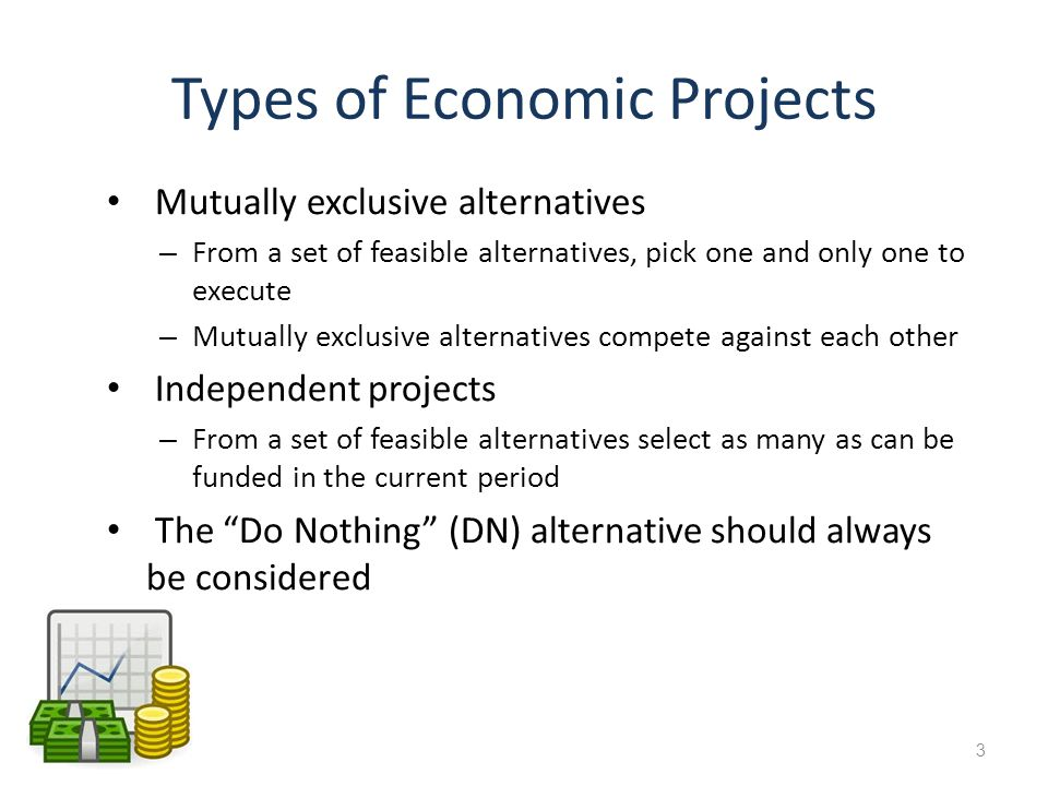 Types of Economic Projects