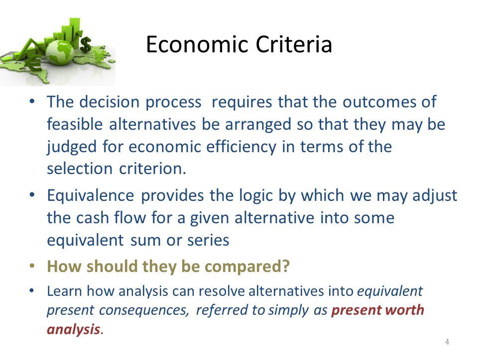 Economic Criteria
