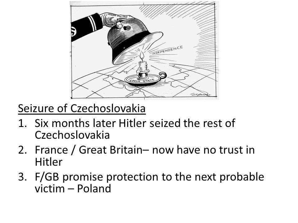 Seizure of Czechoslovakia