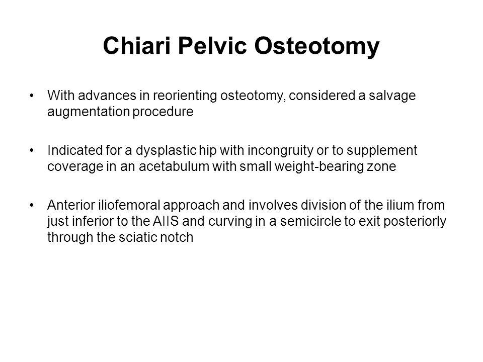 Chiari Pelvic Osteotomy