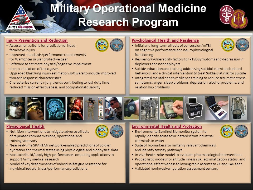 Military Operational Medicine Research Program