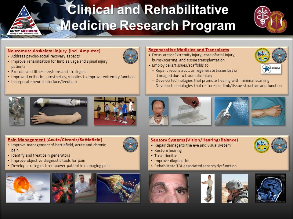 Clinical and Rehabilitative Medicine Research Program