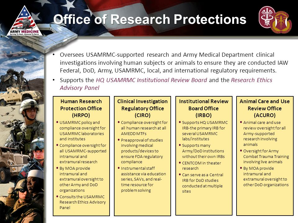 Office of Research Protections