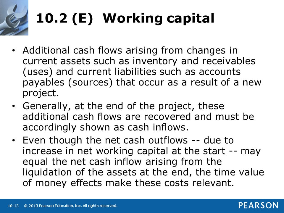 10.2 (E) Working capital