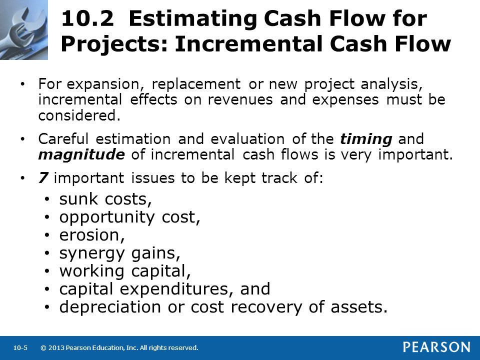 10.2 Estimating Cash Flow for Projects: Incremental Cash Flow