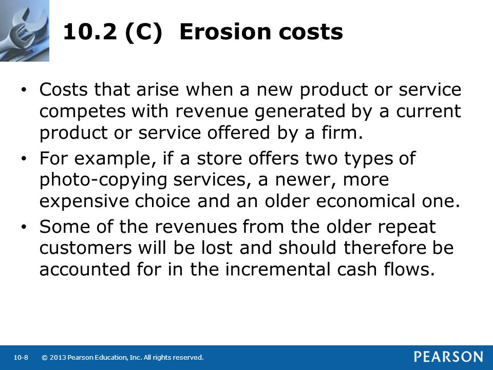 10.2 (C) Erosion costs