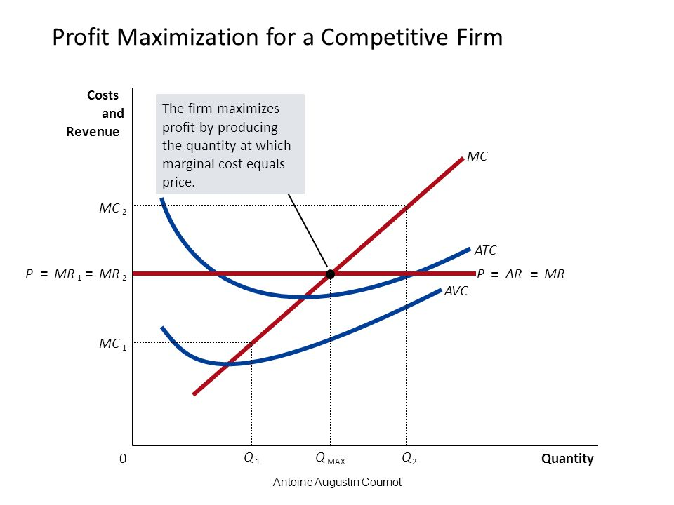Profit Maximization for a Competitive Firm