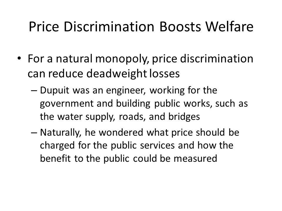 Price Discrimination Boosts Welfare