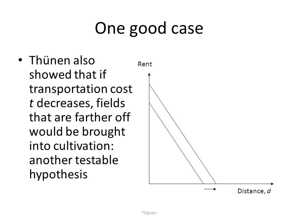 One good case