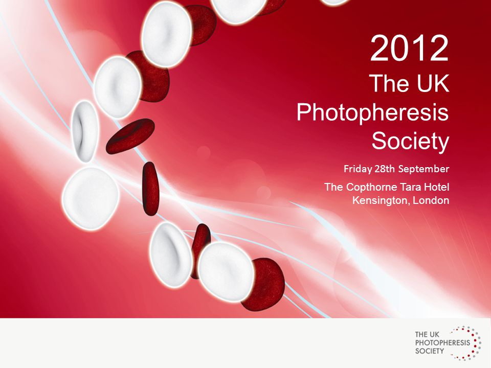 2012 The UK Photopheresis Society