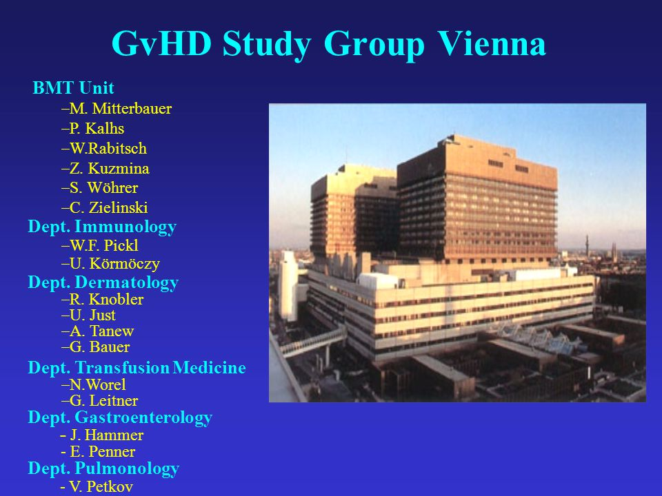 GvHD Study Group Vienna