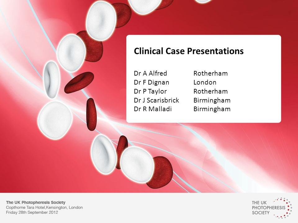 Clinical Case Presentations