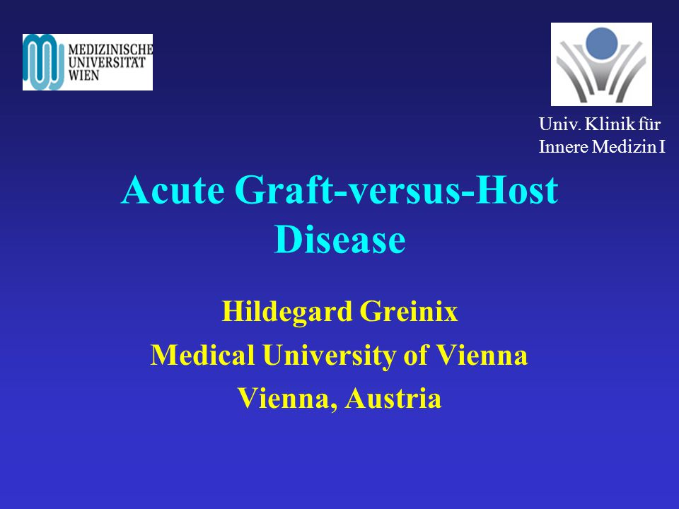 Acute Graft-versus-Host Disease