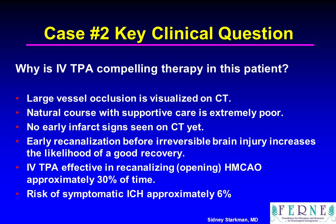 Case #2 Key Clinical Question