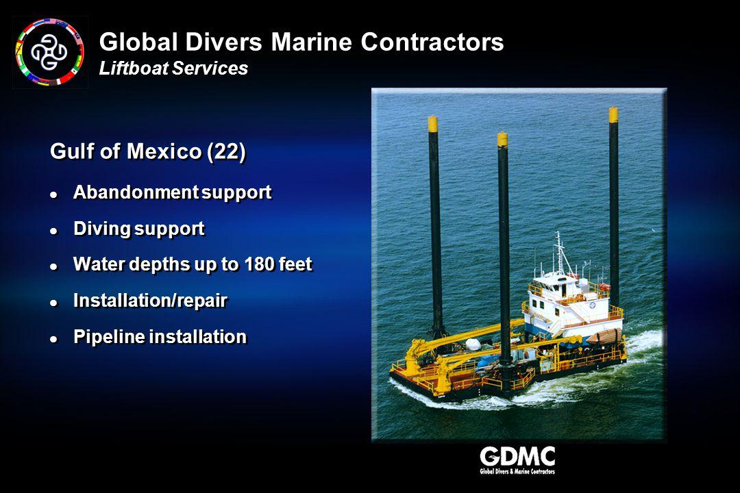 Global Divers Marine Contractors Liftboat Services