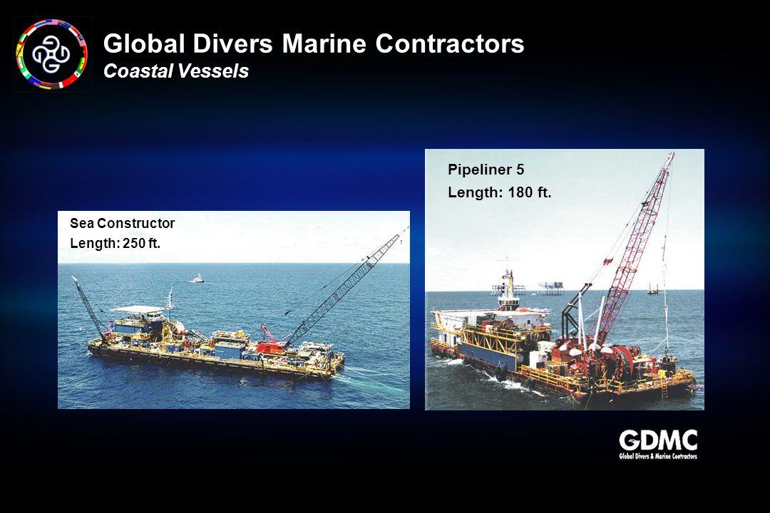 Global Divers Marine Contractors Coastal Vessels