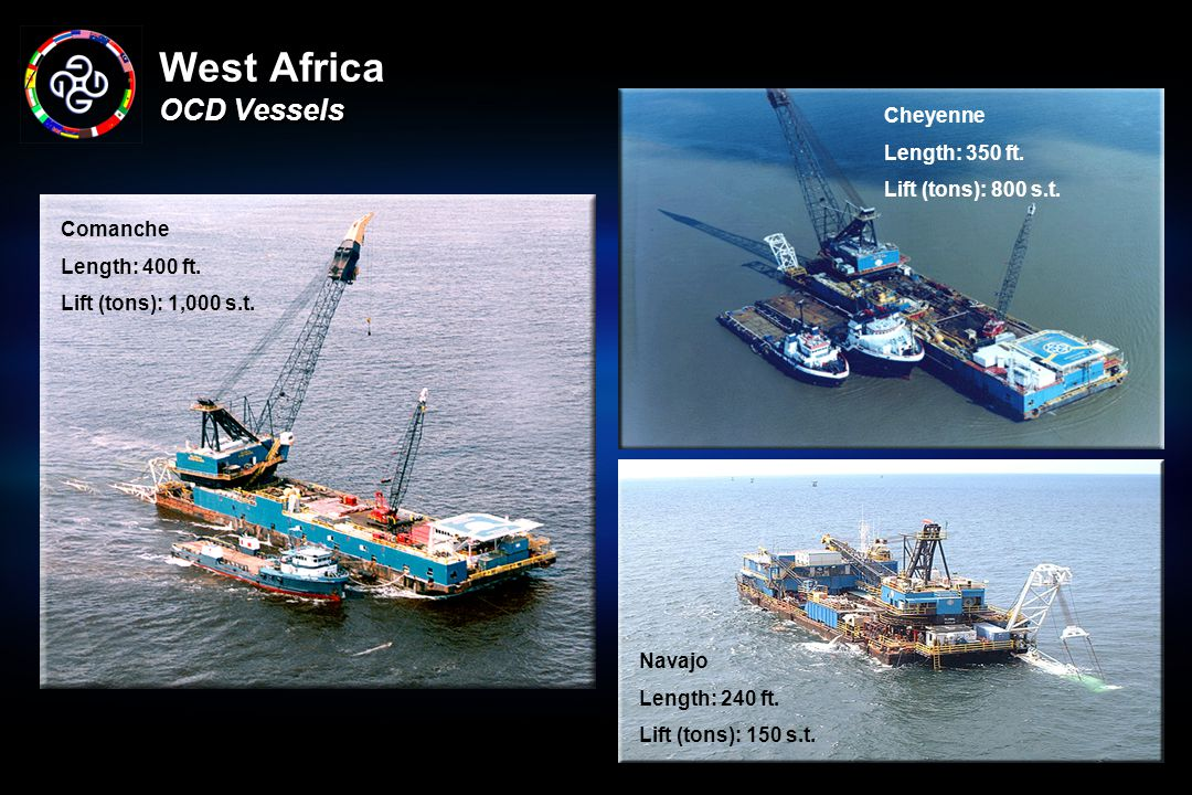West Africa OCD Vessels
