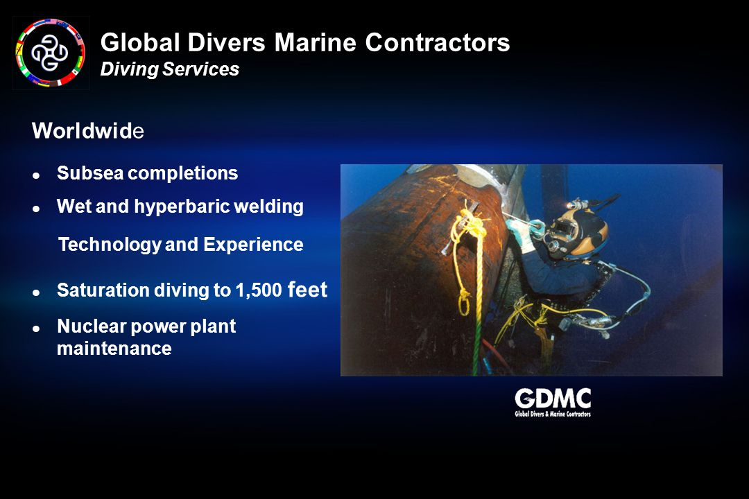 Global Divers Marine Contractors Diving Services