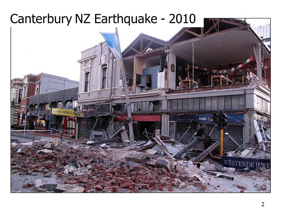 Canterbury NZ Earthquake - 2010