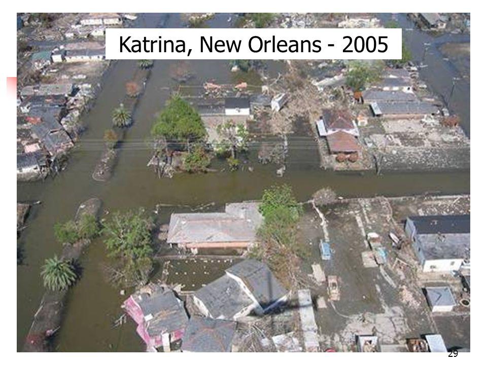 Katrina, New Orleans - 2005