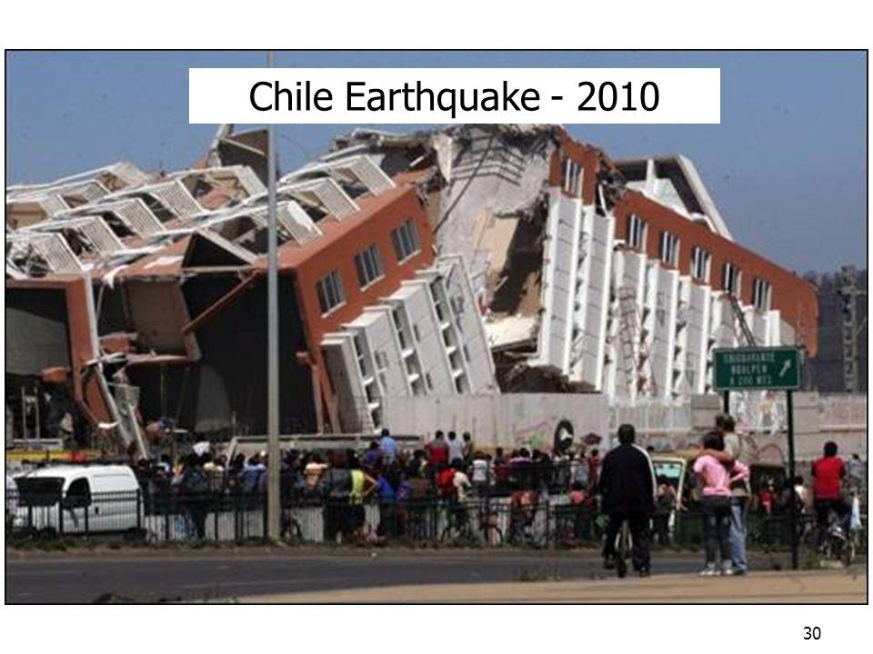 Chile Earthquake - 2010