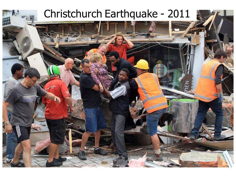 Christchurch Earthquake - 2011