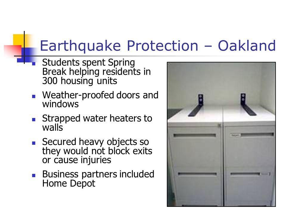 Earthquake Protection – Oakland