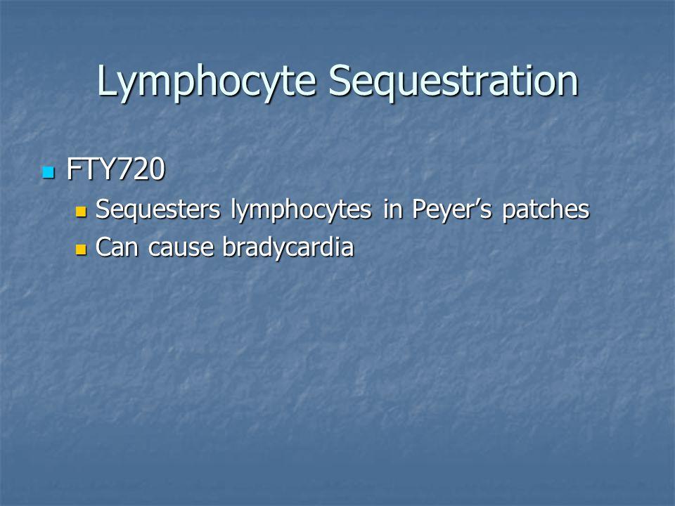 Lymphocyte Sequestration