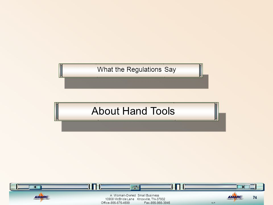 What the Regulations Say
