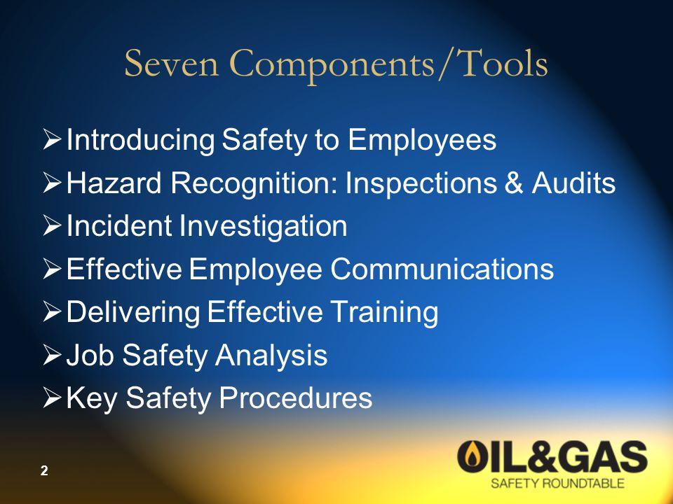 Seven Components/Tools