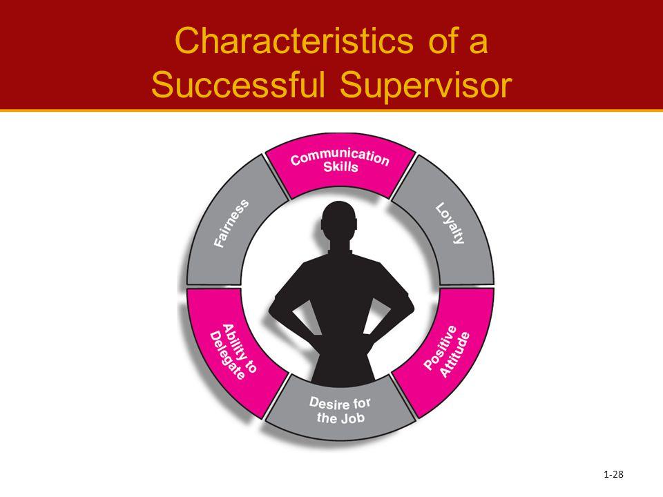 Characteristics of a Successful Supervisor