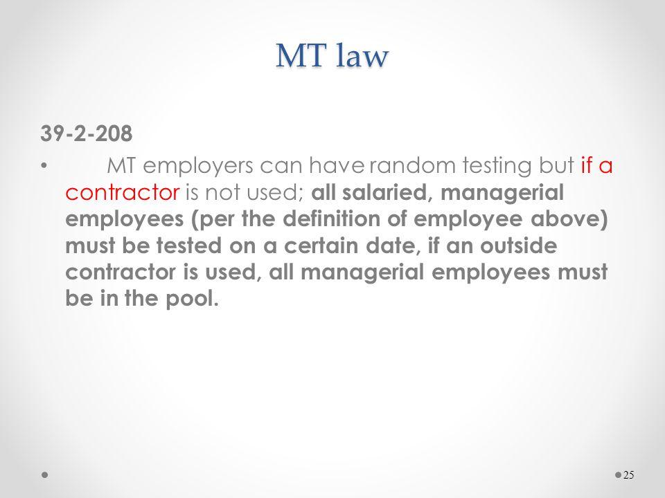 MT law 39-2-208.