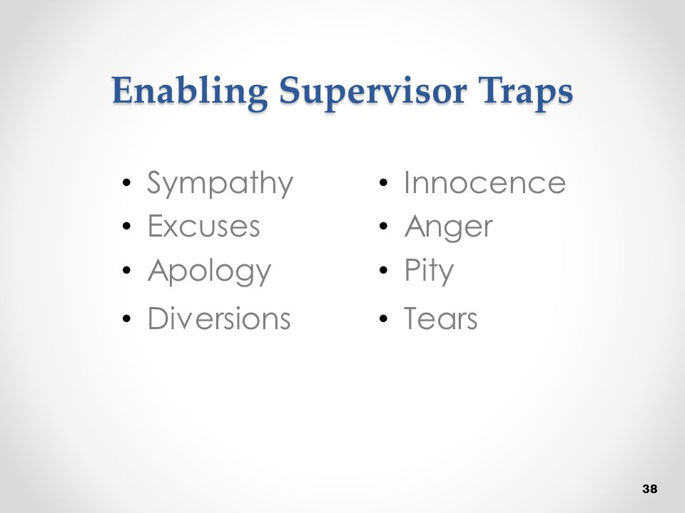 Enabling Supervisor Traps