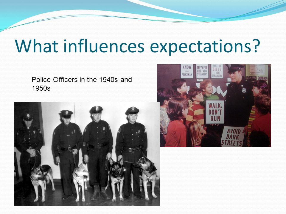 What influences expectations