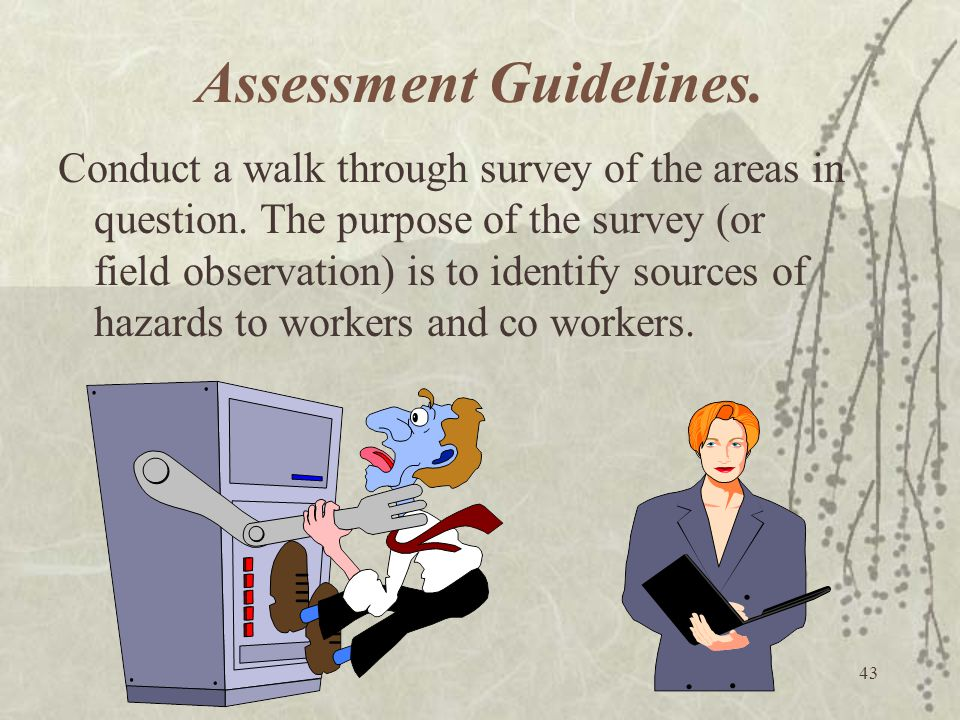 Assessment Guidelines.