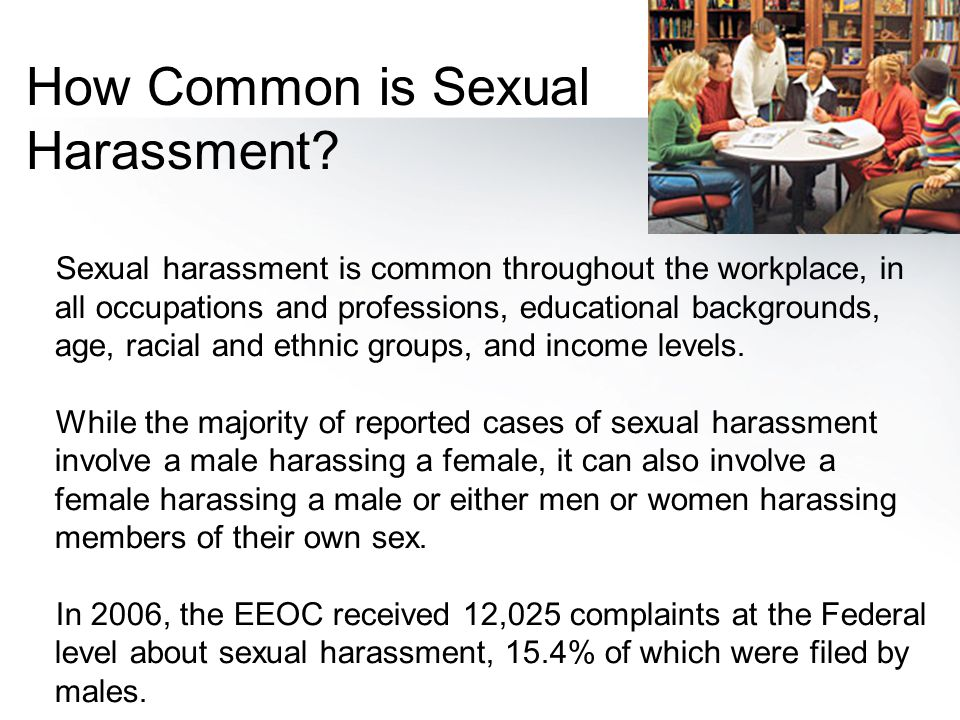 How Common is Sexual Harassment