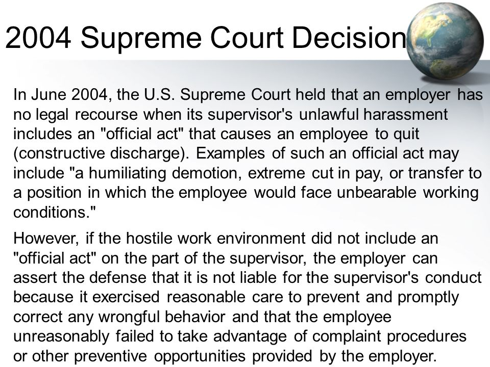 2004 Supreme Court Decision