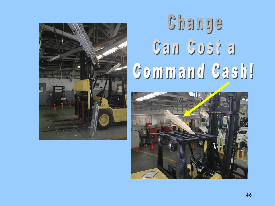 Change Can Cost a Command Cash!