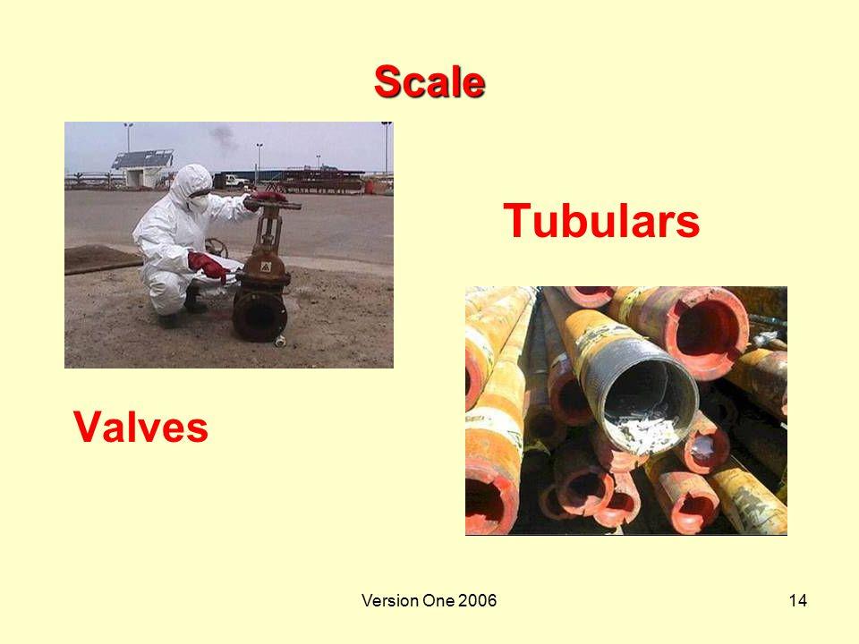 Scale Tubulars Valves Version One 2006