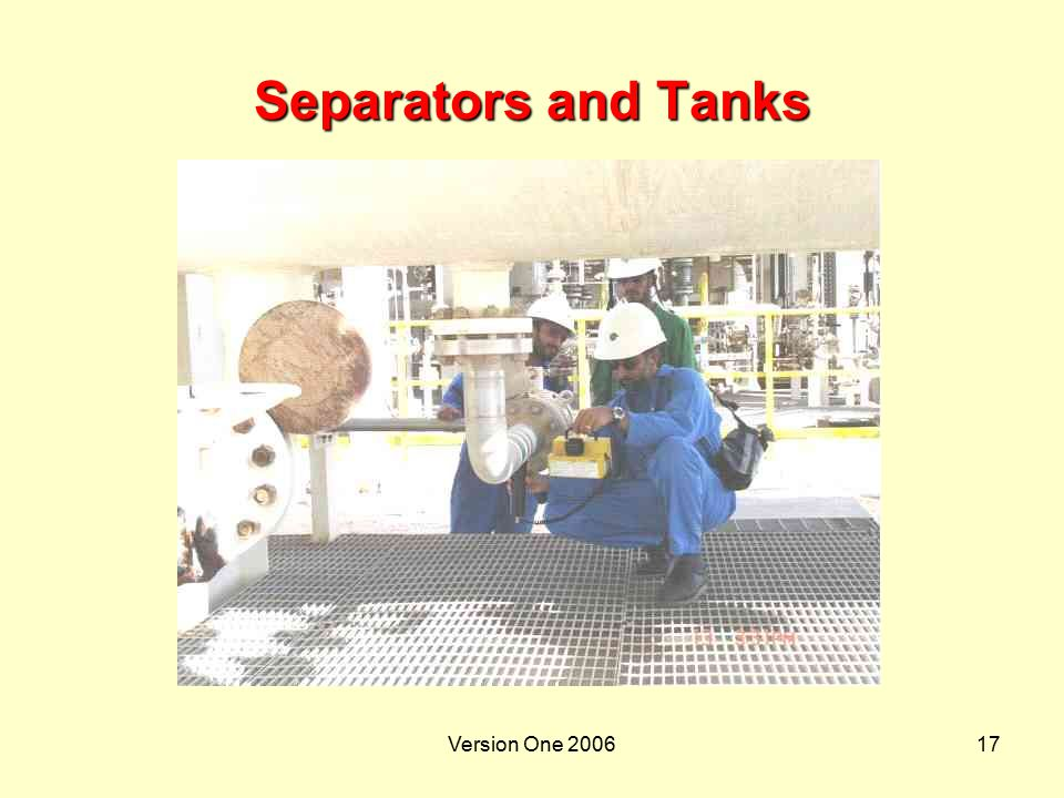 Separators and Tanks Version One 2006