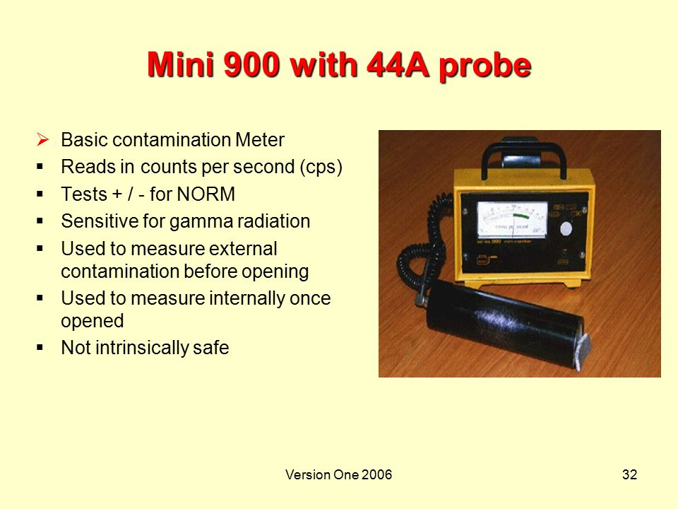 Mini 900 with 44A probe Basic contamination Meter